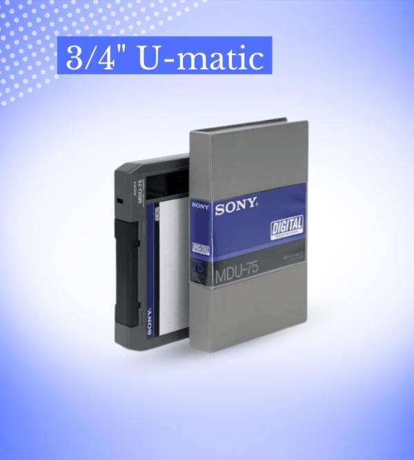 """Transfer 3/4"""" U-matic"""