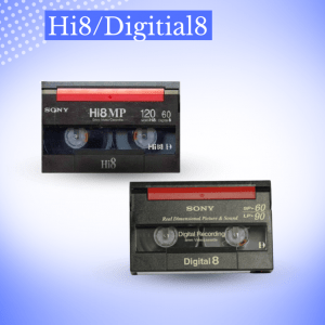 Transfer Hi8/Digitial8
