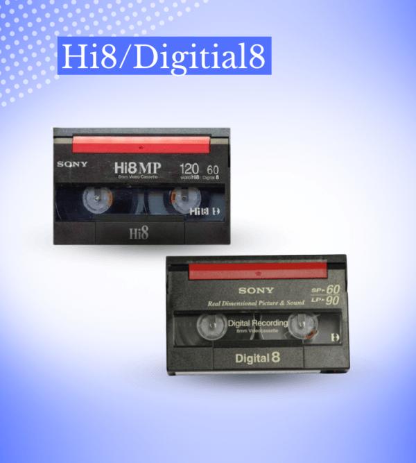 Transfer Hi8/Digitial8