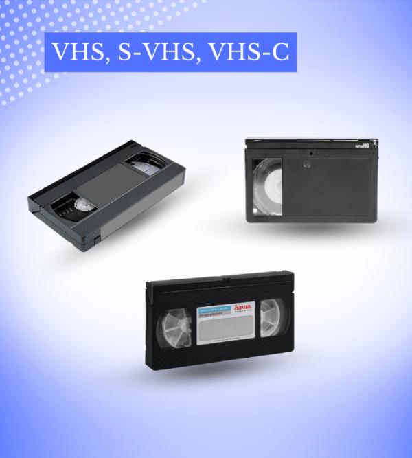Transfer VHS, S-VHS, VHS-C