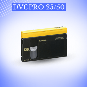 Transfer DVCPRO 25/50